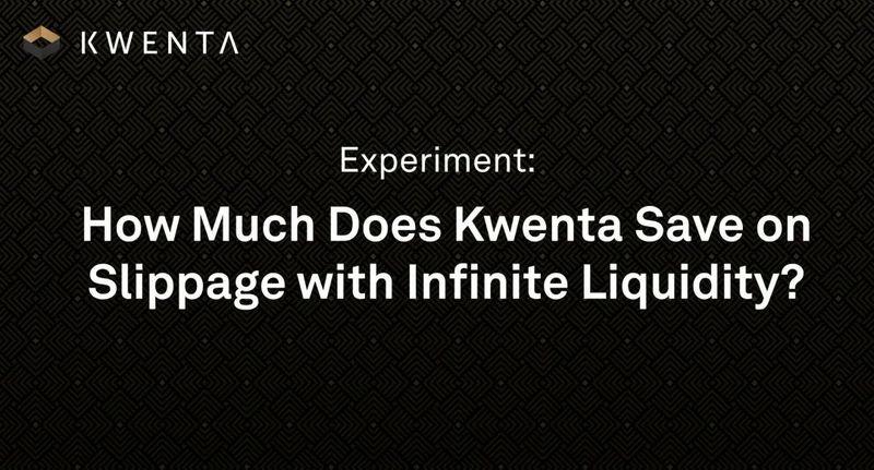 项目速递   Kwenta:DeFi新机制,滑点为0的去中心化衍生品交易所