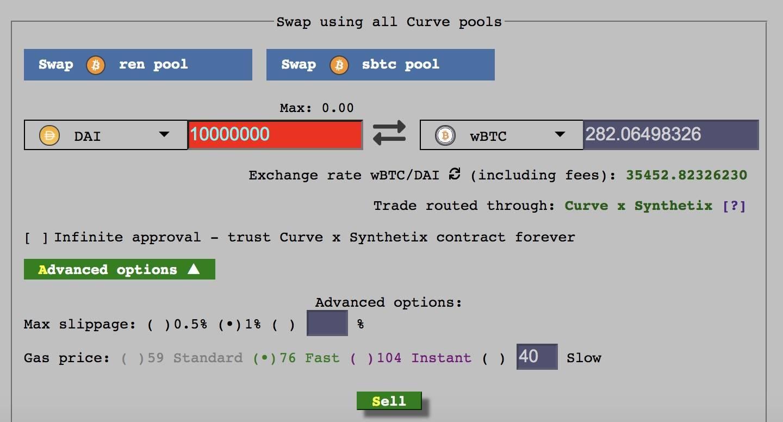 DeFi新玩法丨DEX革命,一文了解Curve推出的跨资产Swap交易服务