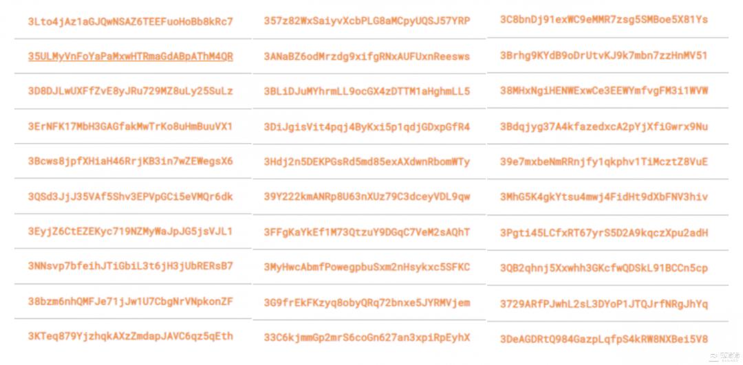 """021伊始,谁在控盘比特币?全球机构、组织、自然人的BTC持仓榜单"""""""