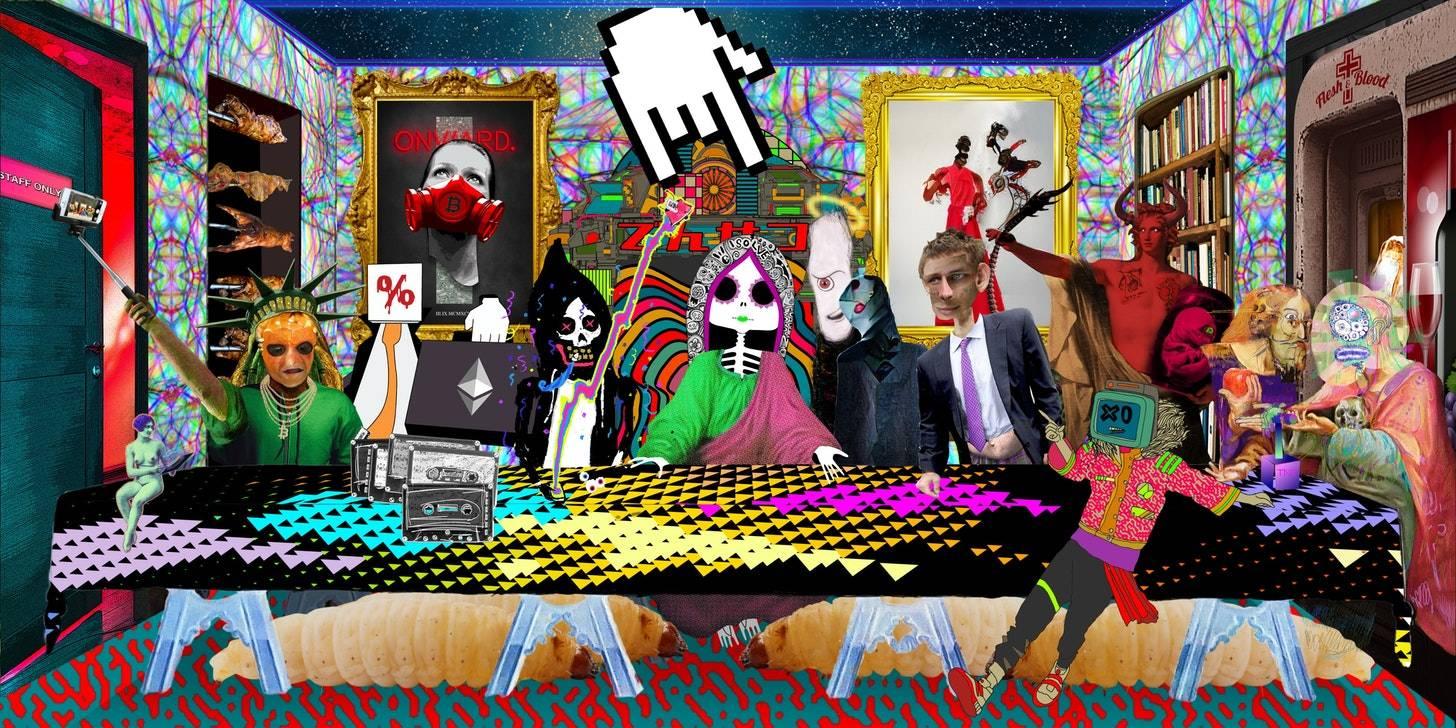 我们花了220万美元买数字艺术品,是不是疯了?