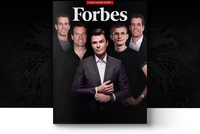 福布斯加密富豪榜:第一名加密货币净资产14亿美元,V神位列第六