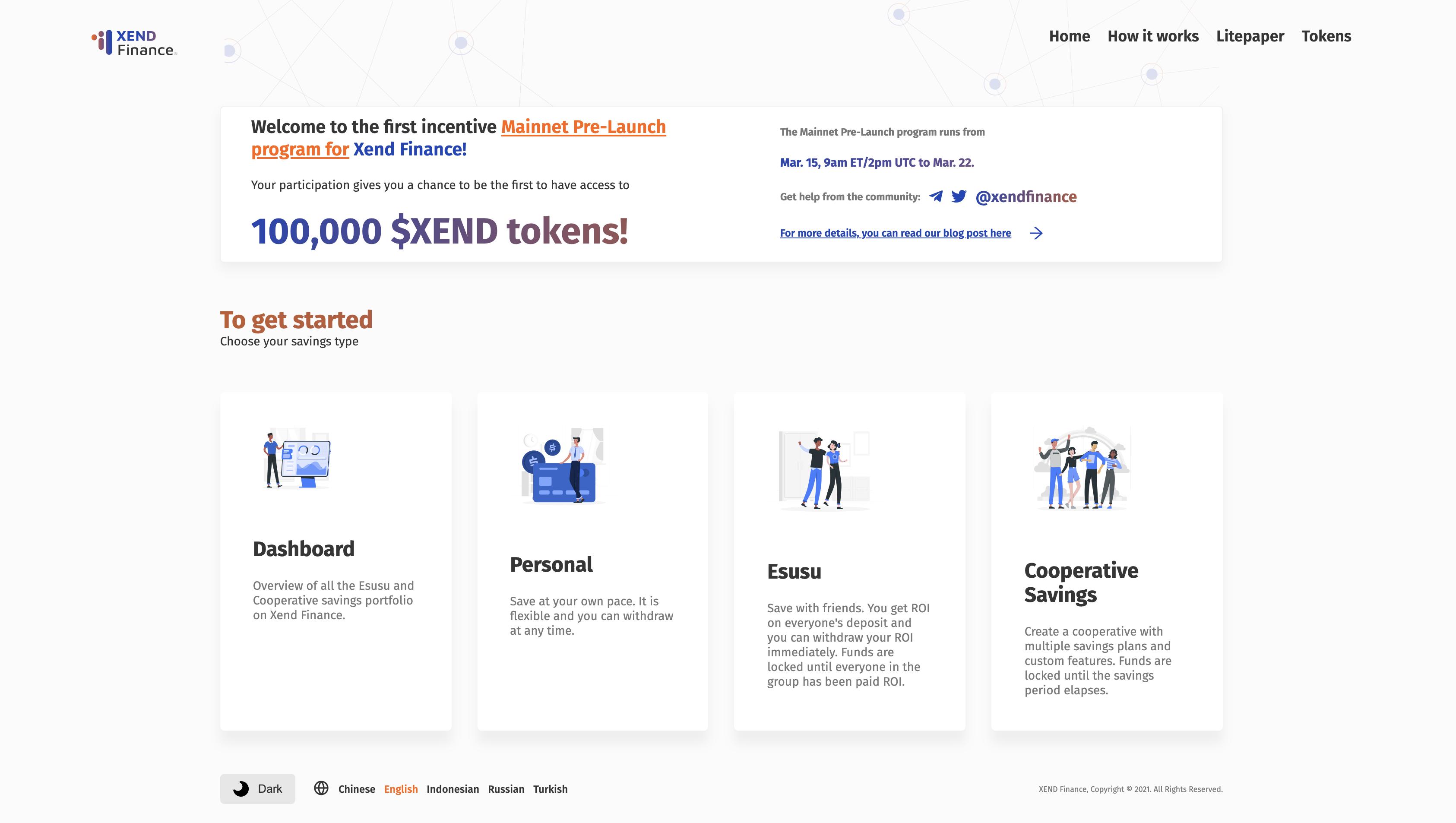 DeFi新玩法丨一文了解DeFi信用合作社平台Xend Finance