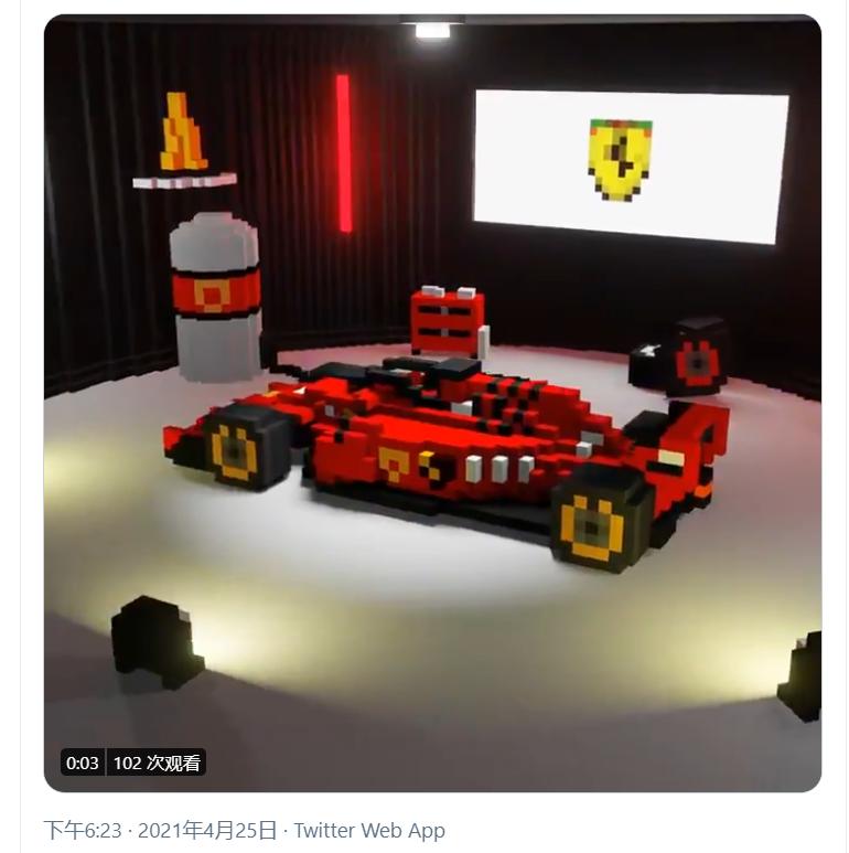 (F1赛车,售价0.06ETH)