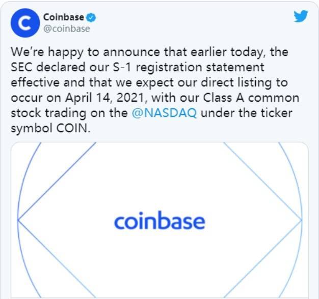 关于Coinbase上市,这里有你想知道的一切