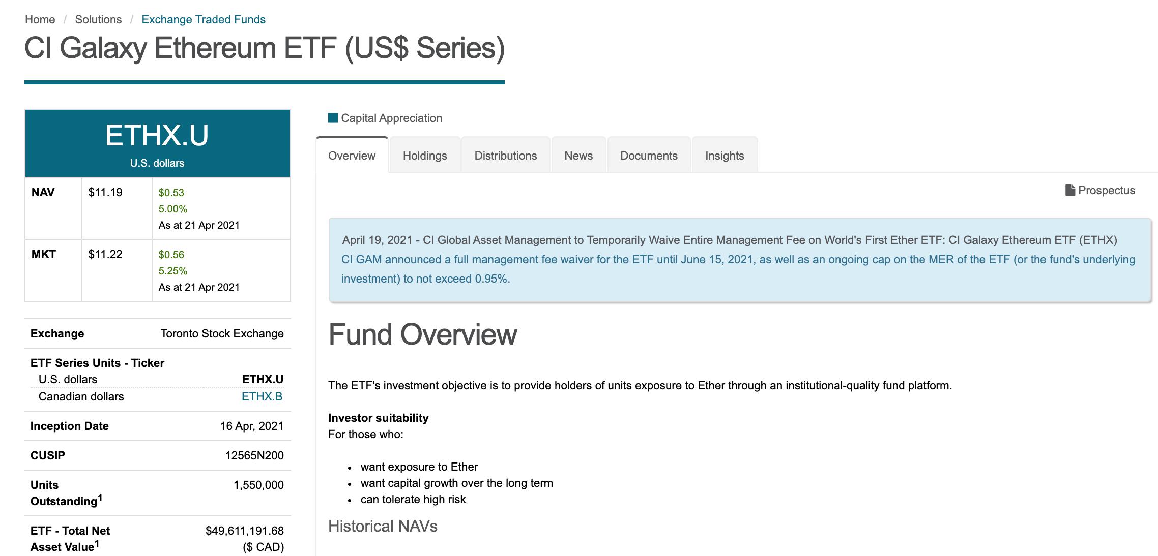 三支以太坊ETF规模已达约7000万美元,ETH创新高后释放积极信号
