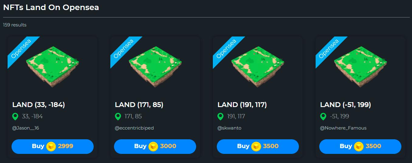 以太坊元宇宙入门:虚拟土地拍卖