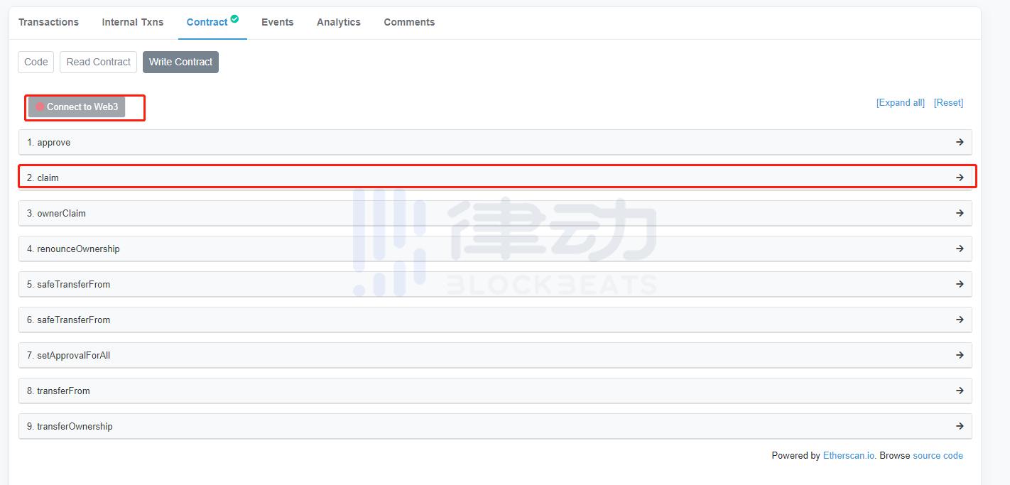 教程丨Loot仿盘没有前端,如何通过浏览器Mint NFT