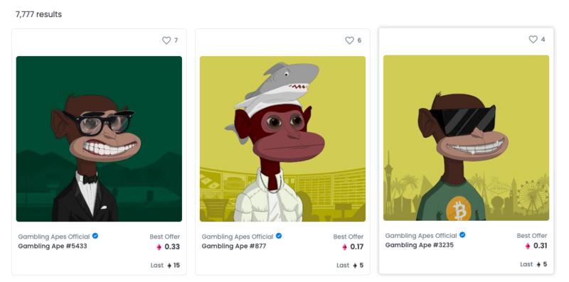 靠游戏收入分成,能带火新的NFT猿猴吗?